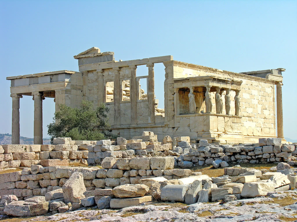 greece erechtheion