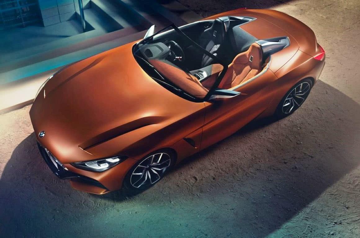 BMW Z4 2018 μεταλλικό χρώμα