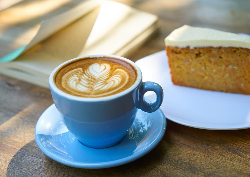 λάτε καπουτσίνο καφές