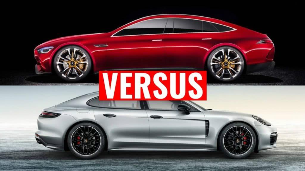 Mercedes AMG ανταγωνίζεται Porsche Panamera