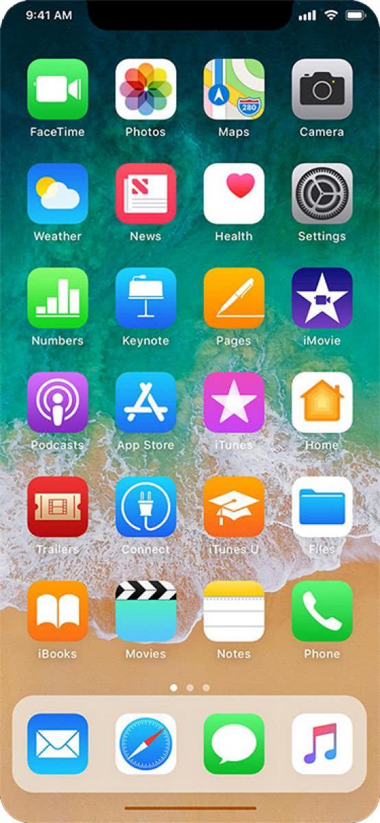 οθόνη iphone x