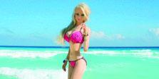 Valeria Lukyanova γυναίκα barbie