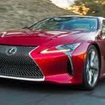 Lexus LC500 κόκκινη