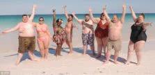 παχύσαρκοι στην παραλία