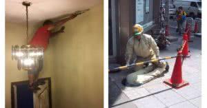 άνδρες που δουλεύουν