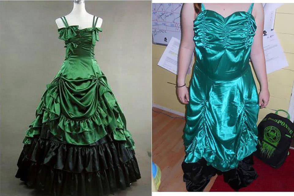 φόρεμα κουρέλι