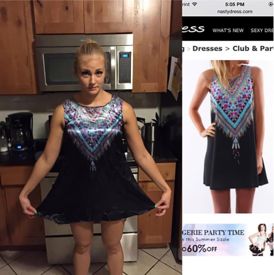 φόρεμα λάθος νούμερο