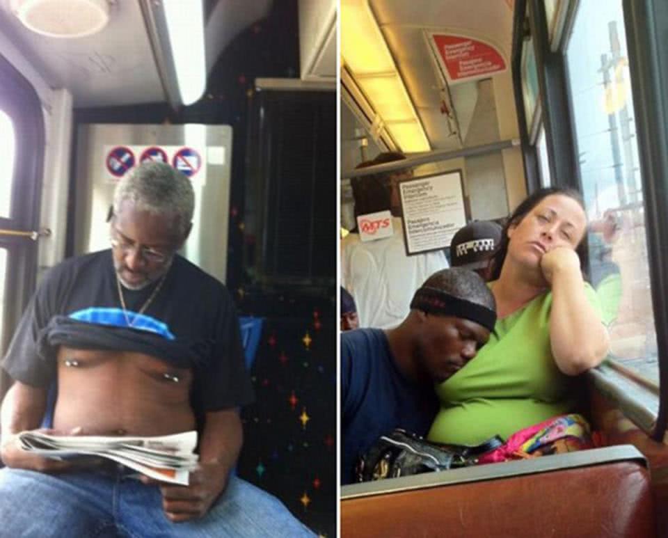 γέλιο στο μετρό