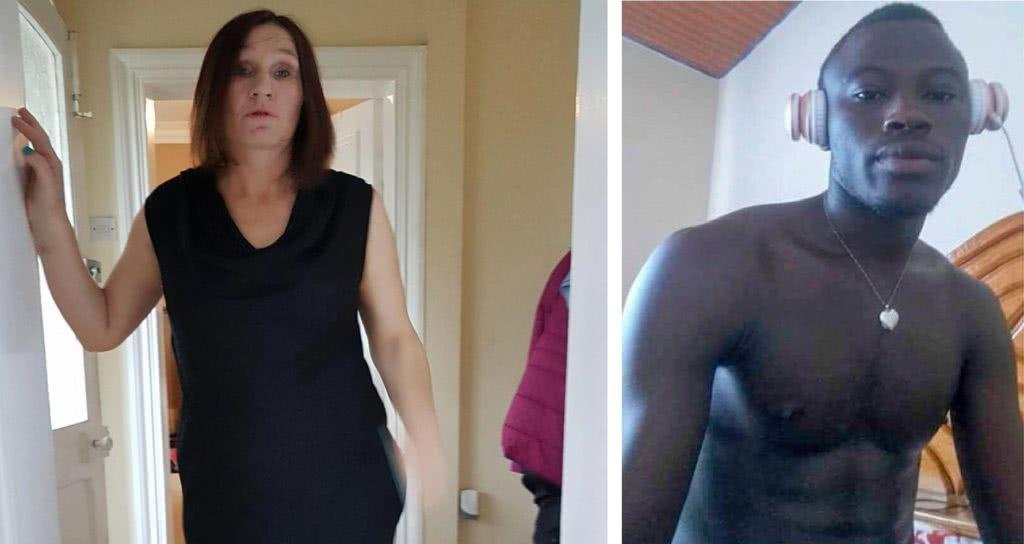 γυναίκα και αγόρι