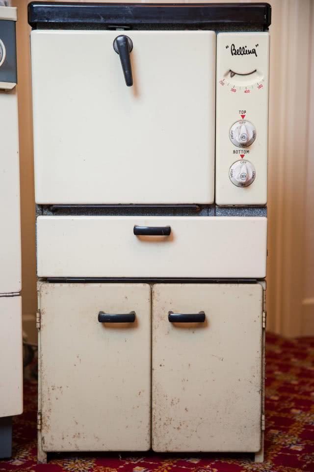 ηλεκτρική κουζίνα παλιά