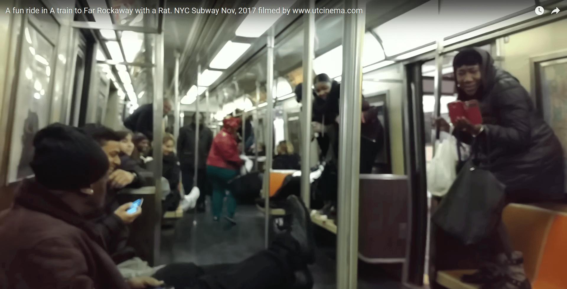 πανικός σε μετρό