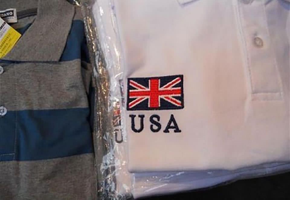 πουκάμισο με λάθος σημαία