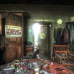 τραπεζαρία εγκαταλελειμμένου σπιτιού