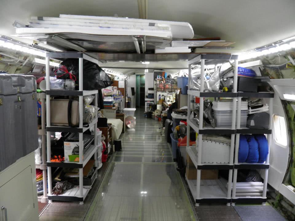 χώροι αποθήκευσης καμπίνας