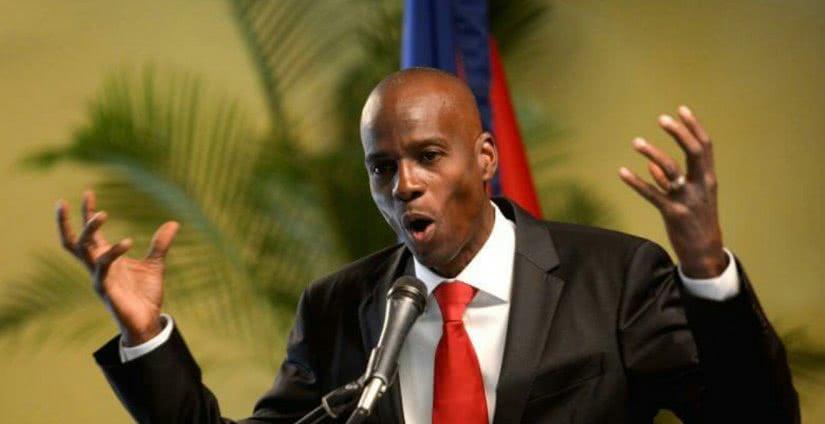 ο πρόεδρος της αϊτής