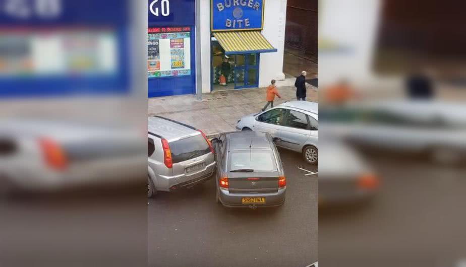 άσχημο παρκάρισμα