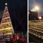 φωταγώγιση δένδρου στην ουάσινγκτον