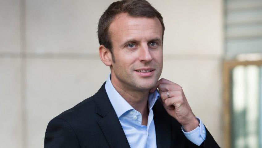 την γαλλία εκπροσώπησε ο εμμανουέλ μακρόν
