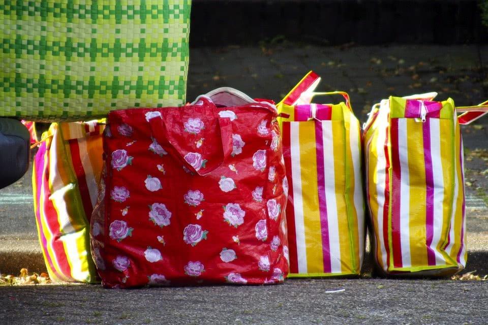 επαναχρησιμοποιούμενες σακούλες