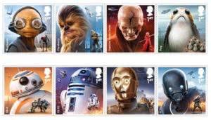 γραμματόσημα star wars