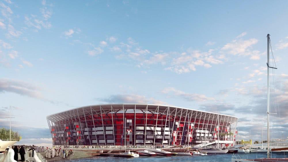το στάδιο του κατάρ για το παγκόσμιο κύπελλο ποδοσφαίρου το 2022