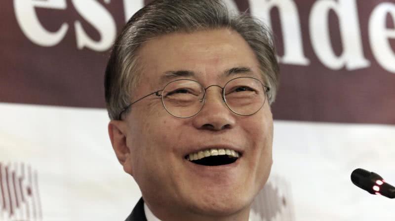 ο πρόεδρος της νότιας κορέας