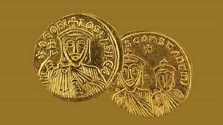 νομίσματα από αρχαιολογικό μουσείο θηβών