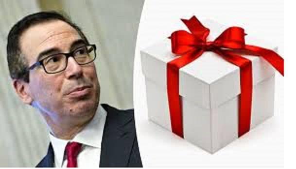ο υπουργός με το δώρο
