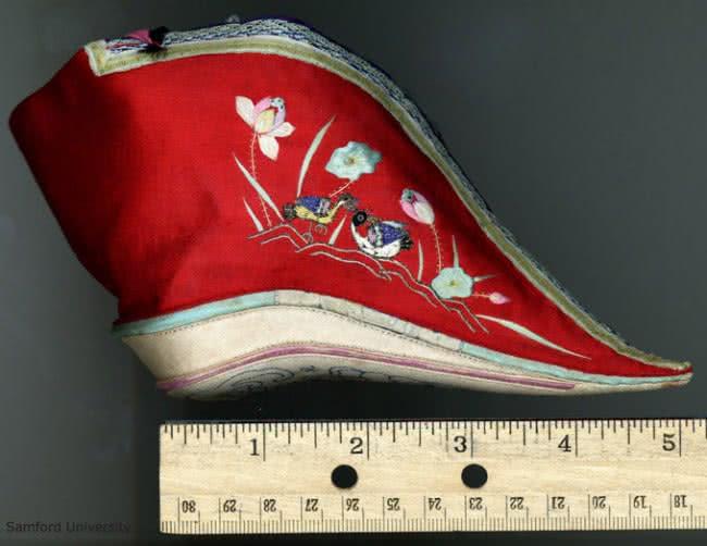 παπούτσι και χάρακας