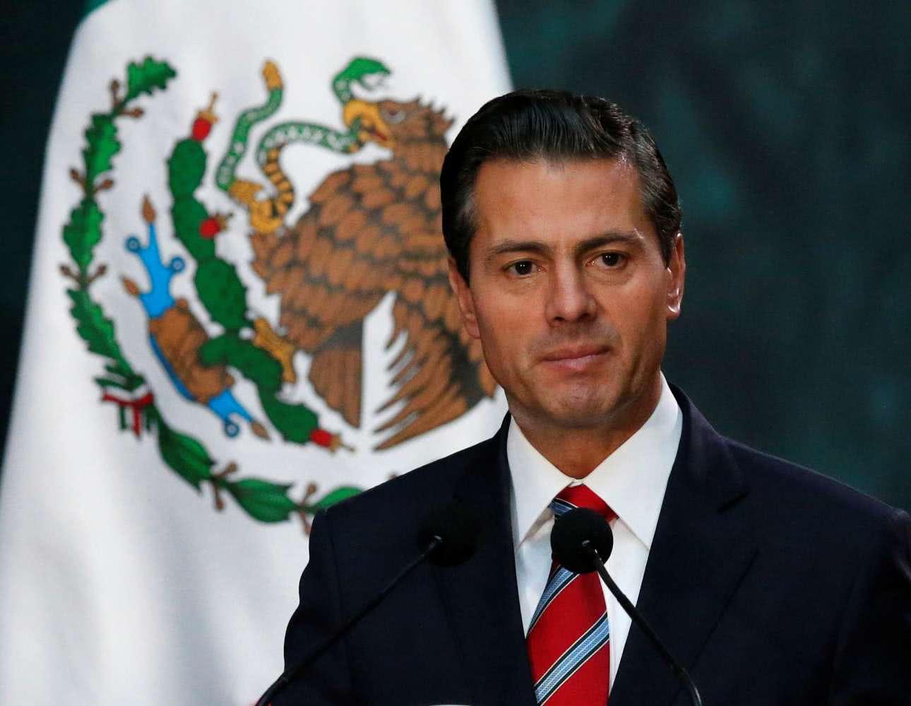 ο πρόεδρος του μεξικού