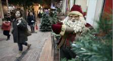 χριστούγεννα στα καταστήματα στην αθήνα