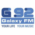 Λογότυπο ράδιφωνικού σταθμού Galaxy 92