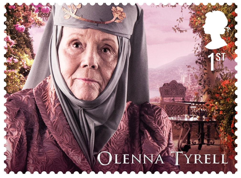 ολένα τάϋλερ από σειρά γραμματοσήμων