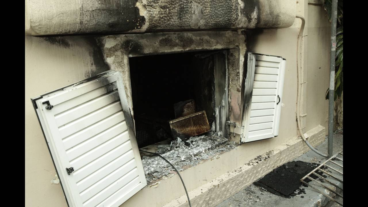 μετά την πυρκαγιά