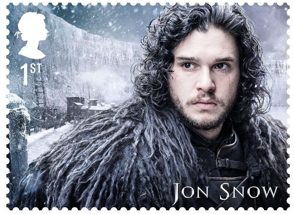 ο τζων σνόου σε γραμματόσημο