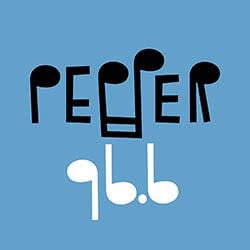 Λογότυπο ράδιφωνικού σταθμού Pepper 96,6