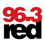 Λογότυπο ράδιφωνικού σταθμού Red 96,3