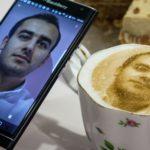selfie και καφές selfiecinno