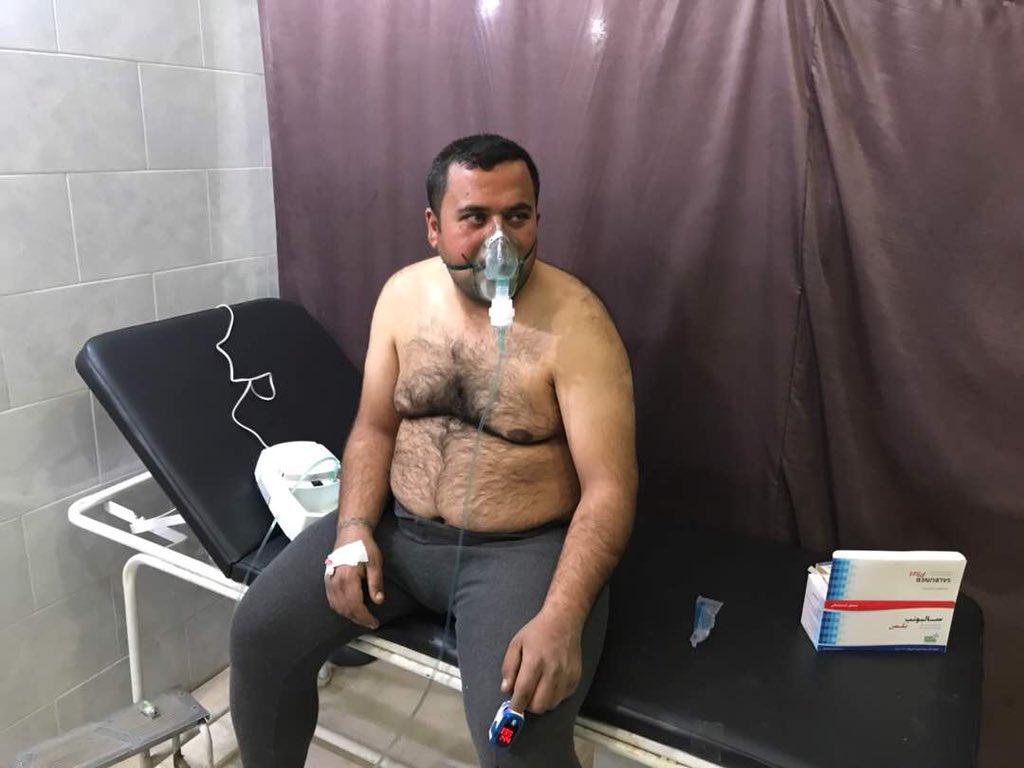 άνδρας στο νοσοκομείο
