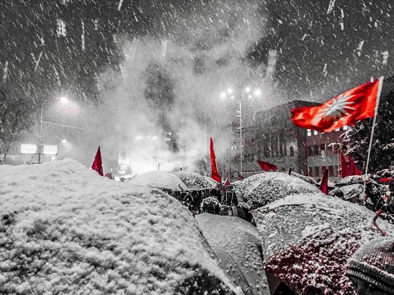 διαδήλωση σκόπια