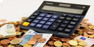 ευρώ με αριθμομηχανή