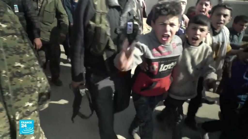 παιδιά από το αφρίν της συρίας