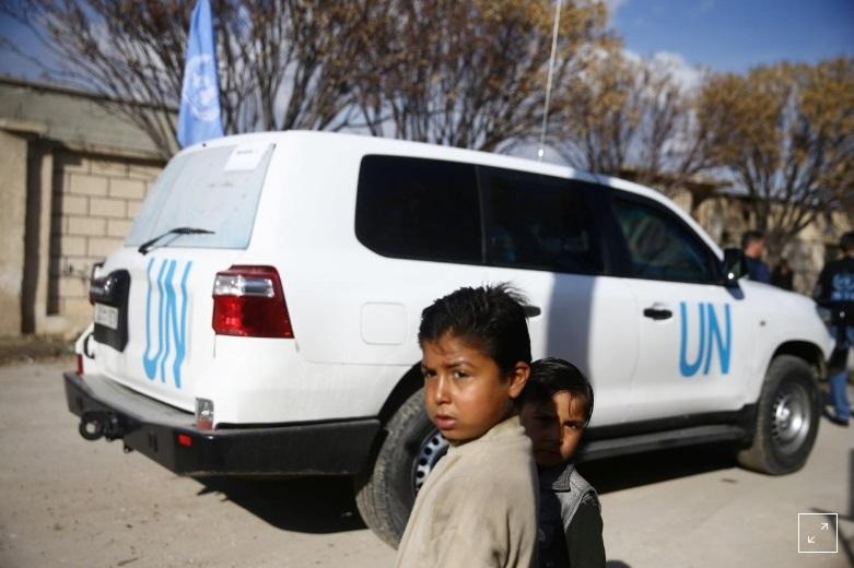 παιδιά στη συρία