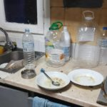 βρώμικη κουζίνα