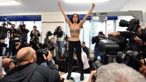 ακτιβίστρια femen