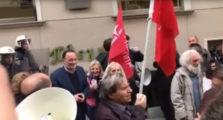 λαφαζάνης διαδήλωση