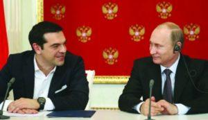 τσίπρας - πούτιν συνάντηση