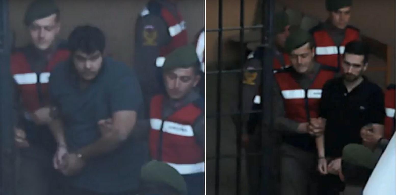Τουρκία: ΒΙΝΤΕΟ- ΦΩΤΟΣ των 2 Ελλήνων στρατιωτικών από τη μεταγωγή τους