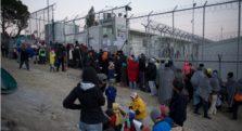 πρόσφυγες λέσβος