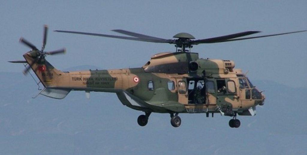 τουρκικό ελικόπτερο